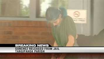 August 10, 2012: Margaret Sanchez is released from the Tangipahoa Parish Jail. Shortly after her release, the Tangipahoa District Attorney refused a charge of harboring a sex offender, the most serious count Sanchez faced. Read the story