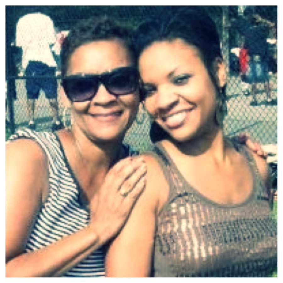 Kweilyn Murphy and her mom