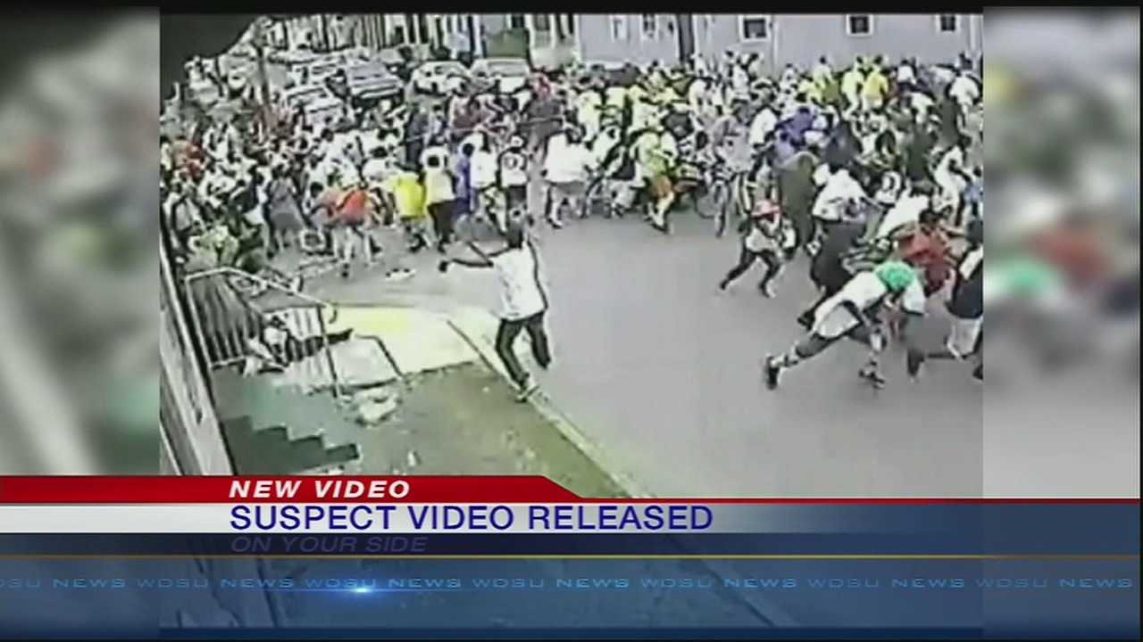 Surveillance video released capturing shooting suspect