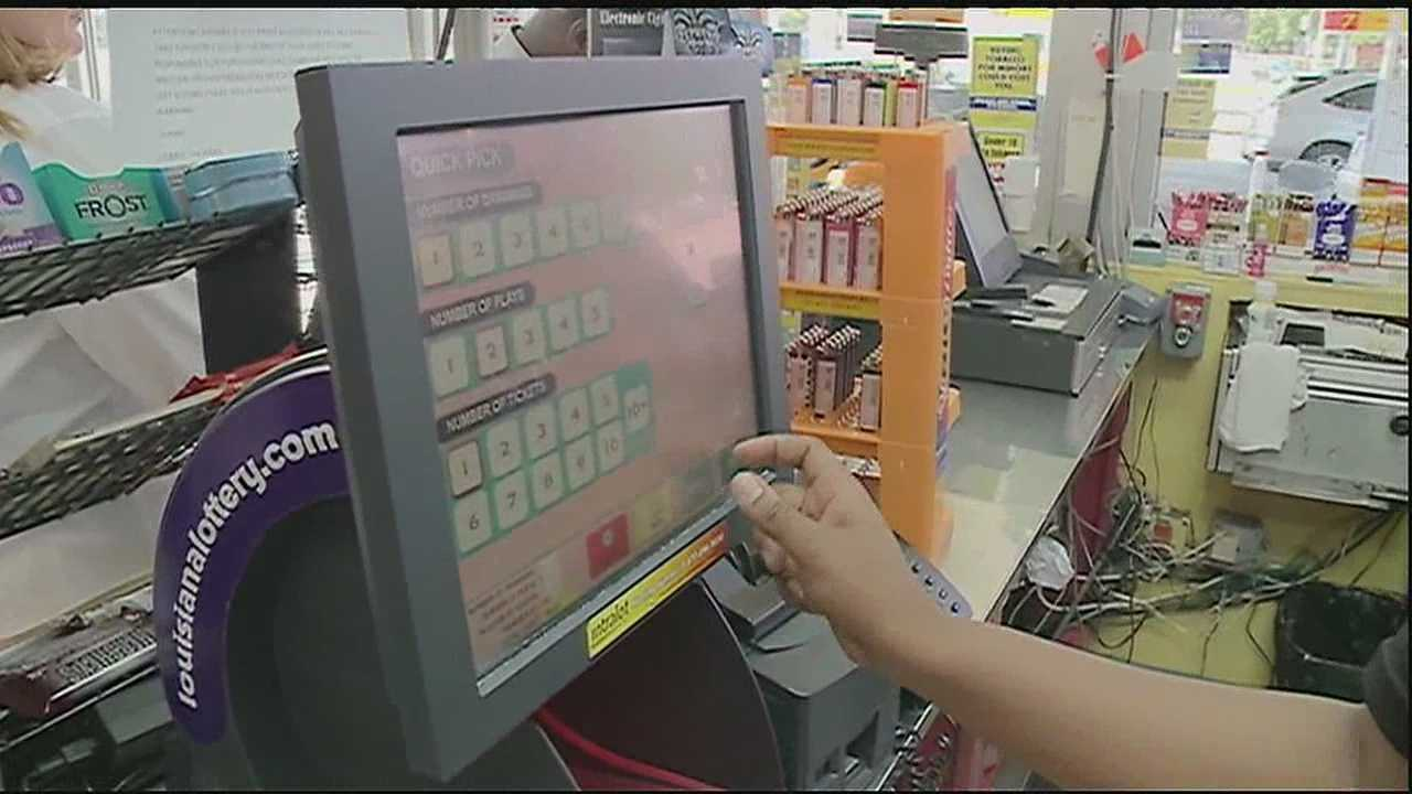 Ticket-buyers hope the store that sold a $97 million powerball ticket will bring them good luck.