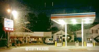 Photo by WDSU anchor Scott Walker