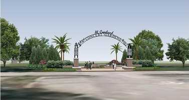 A revised proposal would place a statue and performance stage in Lafreniere Park as part of a memorial to Al Copeland Sr.