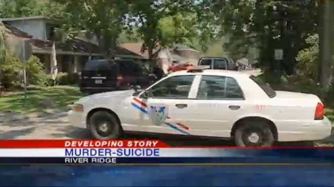 A 53-year-old man is suspected of killing his teenage son, then himself, in a River Ridge home.