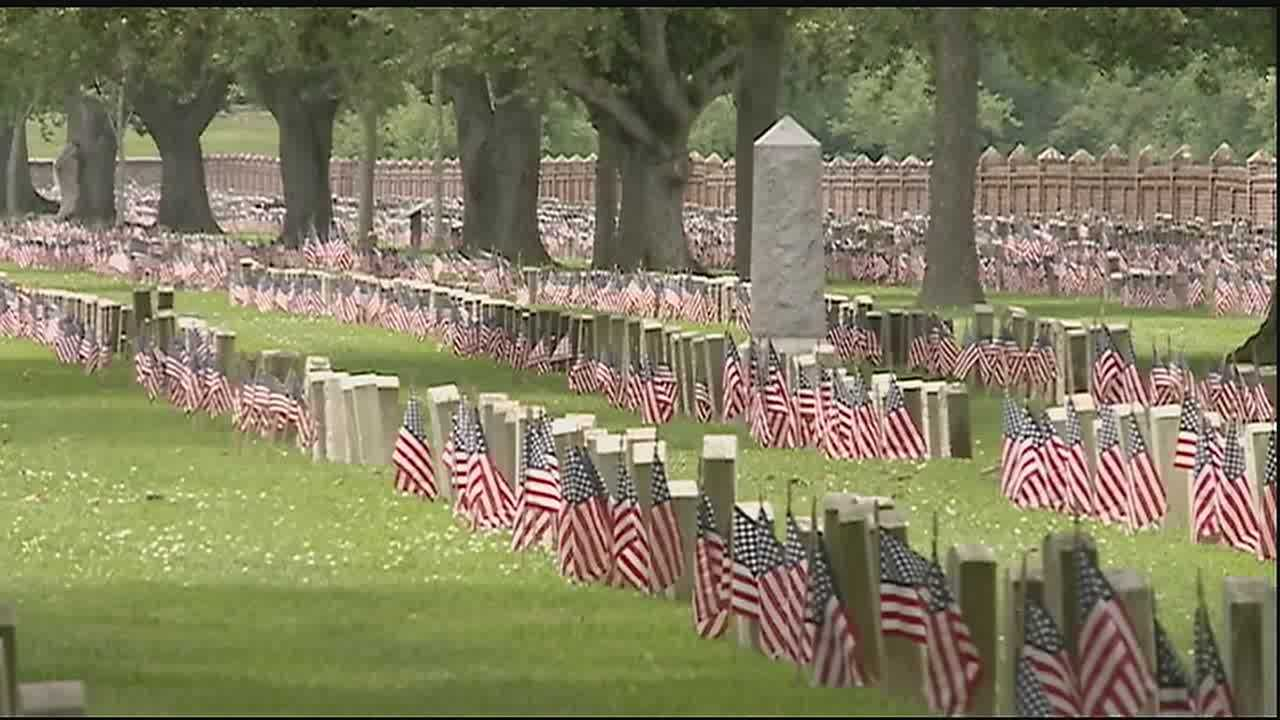 Services took place at the Chalmette National Cemetery and the St. Bernard Memorial Gardens.