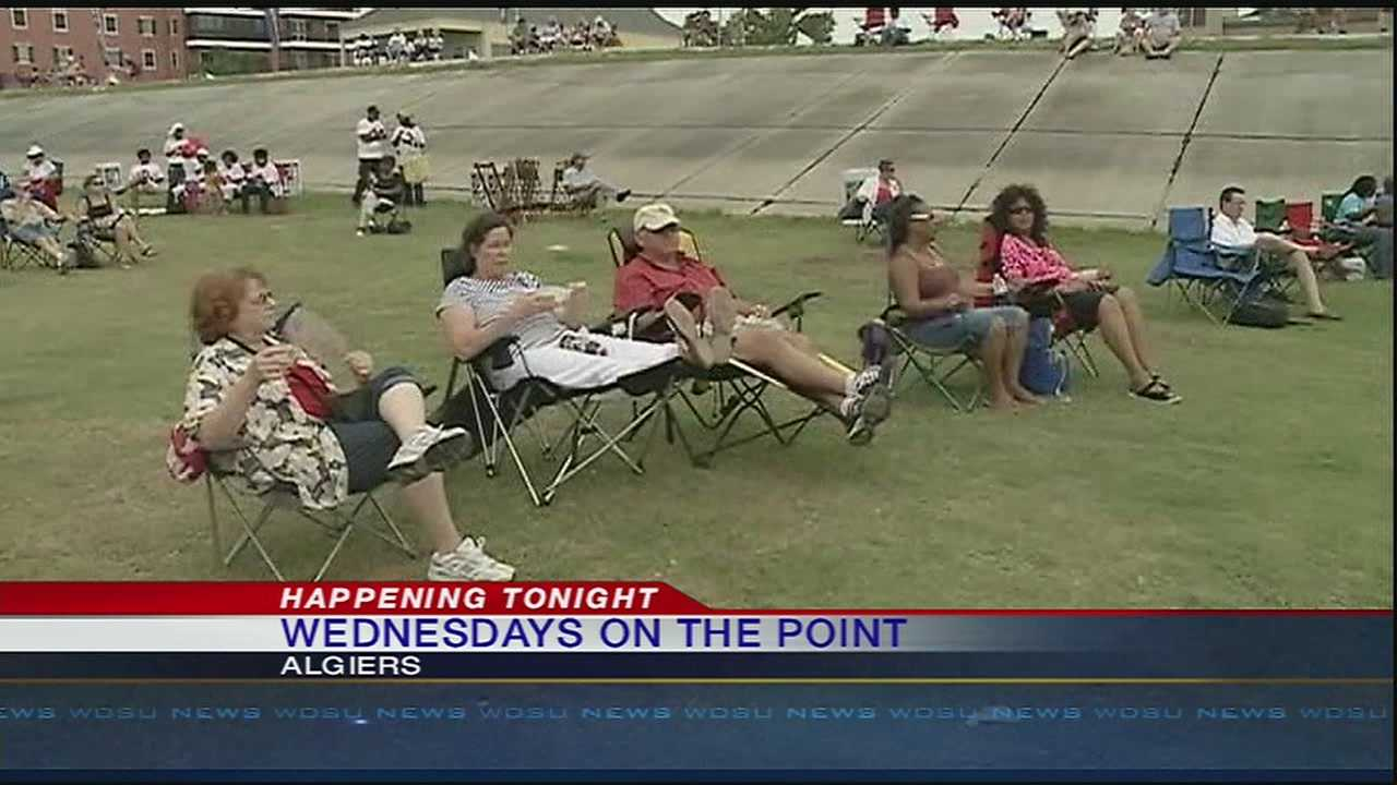 The Wednesdays On The Point concert series brings an economic boom to Algiers during the typically slow summer months.