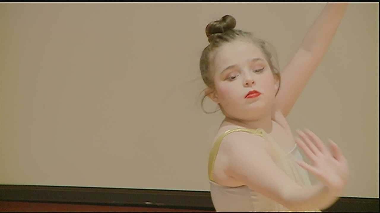 A 13-year-old girl's dream comes true with a special dance recital at Children's Hospital.