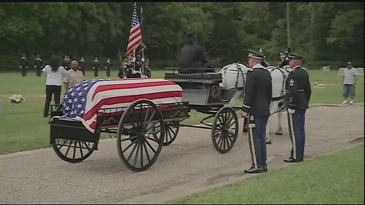 20-year-old Christopher Drake was given a hero's burial after he was killed in the Afghanistan.