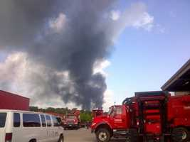 According to emergency information records, a one mile evacuation is recommended in all directions if the substance is caught on fire. Polymer-grade propylene is also flammable.