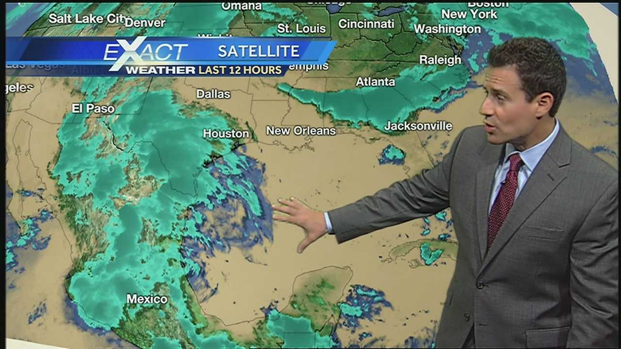 WDSU Exact Weather Meteorologist Jay Galle has the latest on the tropical storm season.