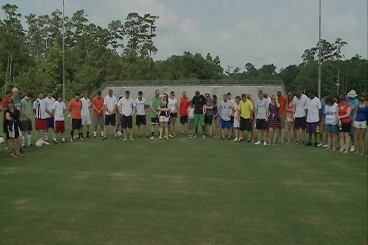 A memorial soccer game was held in the memory of Zachary C. Green Saturday. Click here to read about the blast.
