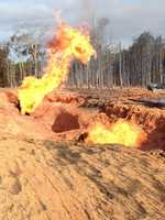 A gas line exploded in Washington Parish Tuesday morning. Take a look at some of the photos submitted to WDSU via u local.