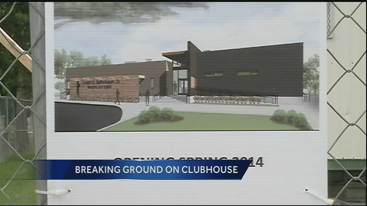 Ground was broken Wednesday on a new clubhouse at the Joseph Bartholomew Sr. Golf Course.