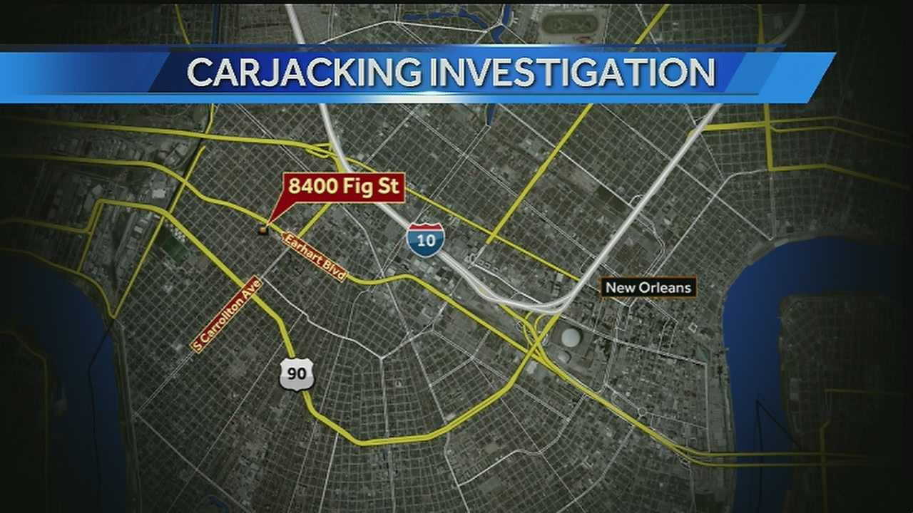 New Orleans police are investigating a carjacking that happened in Hollygrove on Wednesday night.