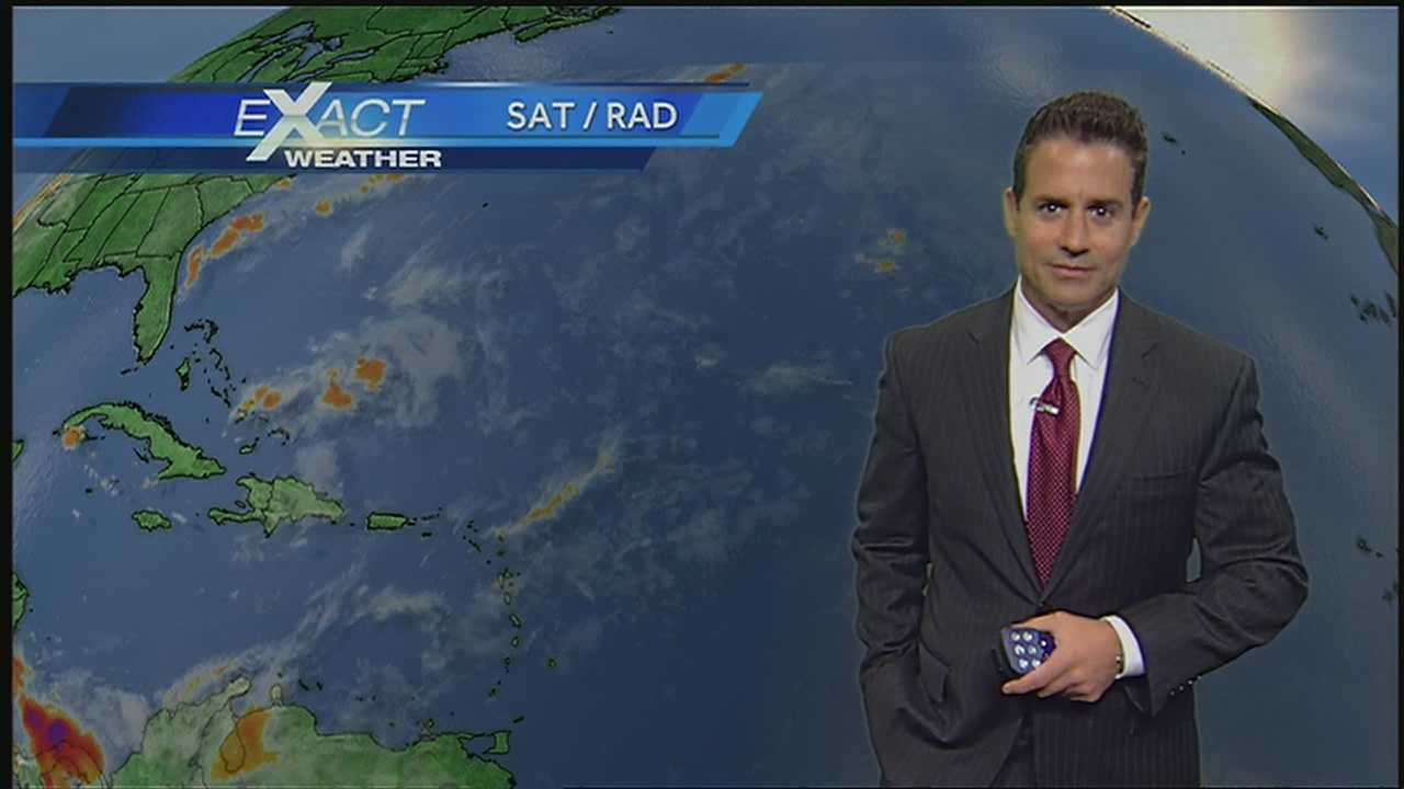 WDSU Exact Weather Meteorologist Jay Galle has the latest on the conditions in the tropics.