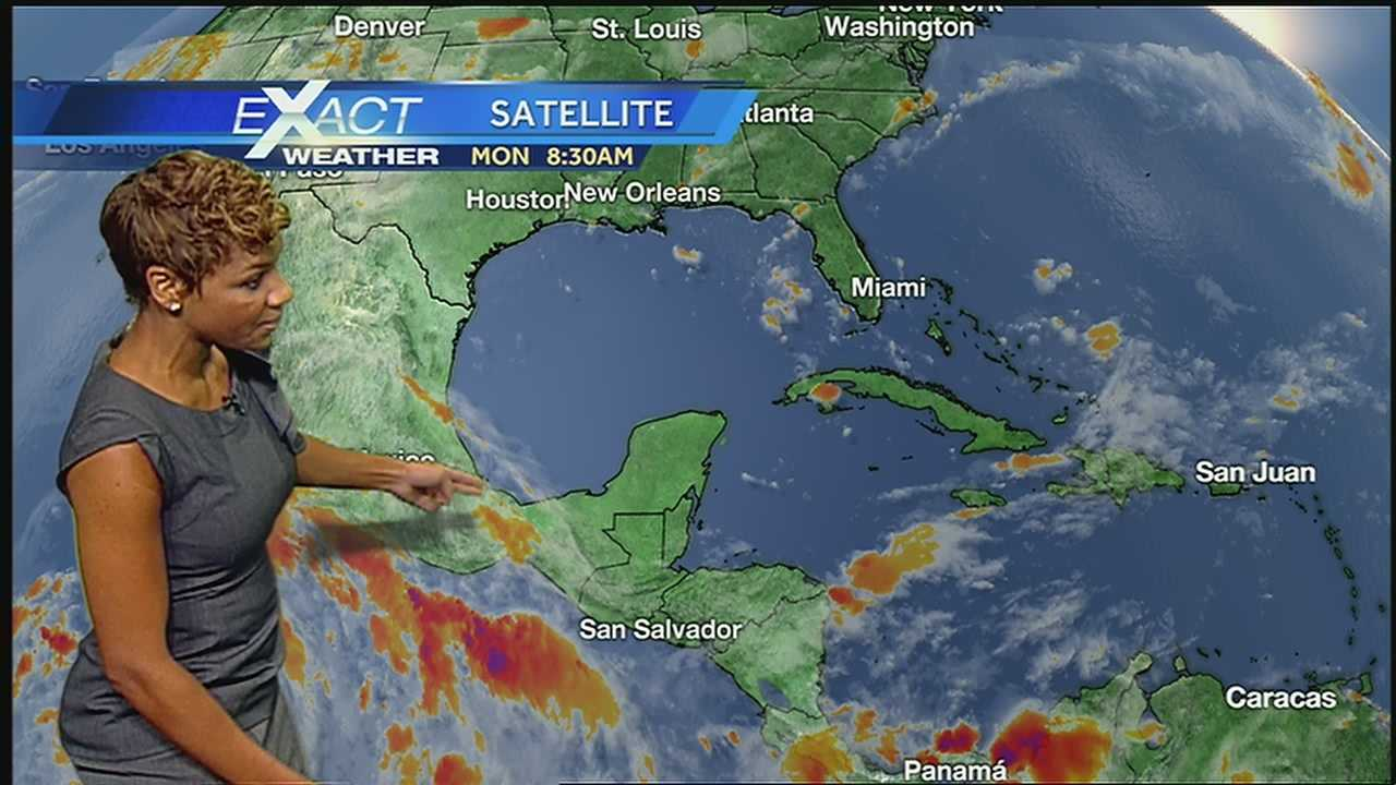 Here's the latest on the tropics from WDSU Exact Weather Meteorologist Kweilyn Murphy.