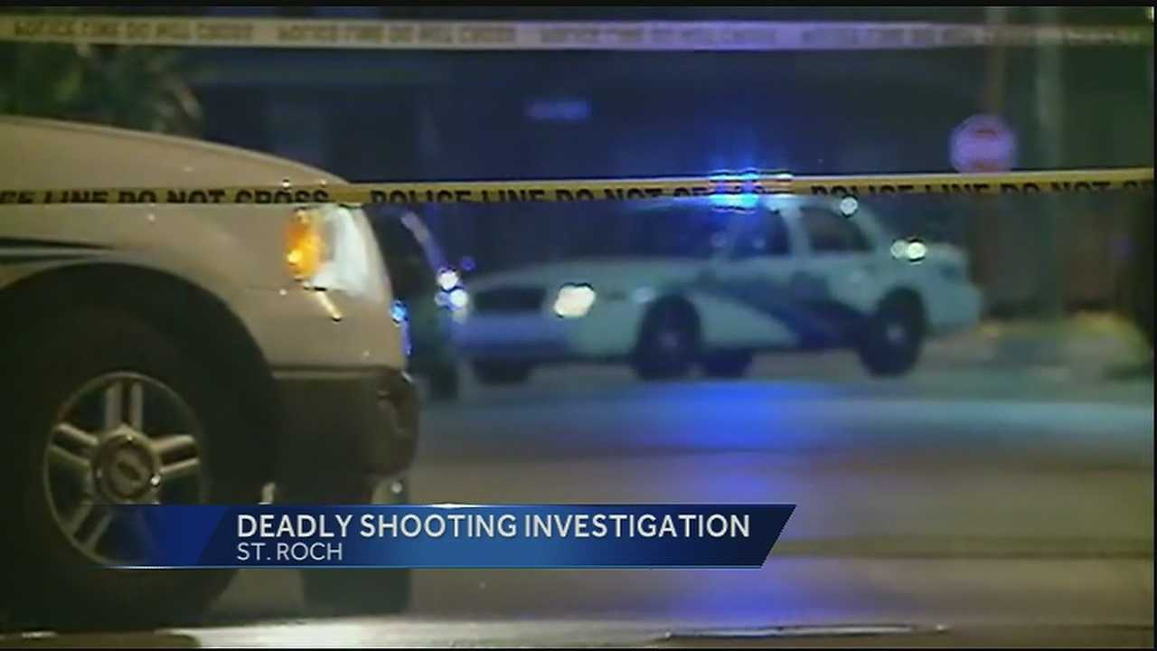 New Orleans Police are investigating a deadly shooting in the St. Roch neighborhood.