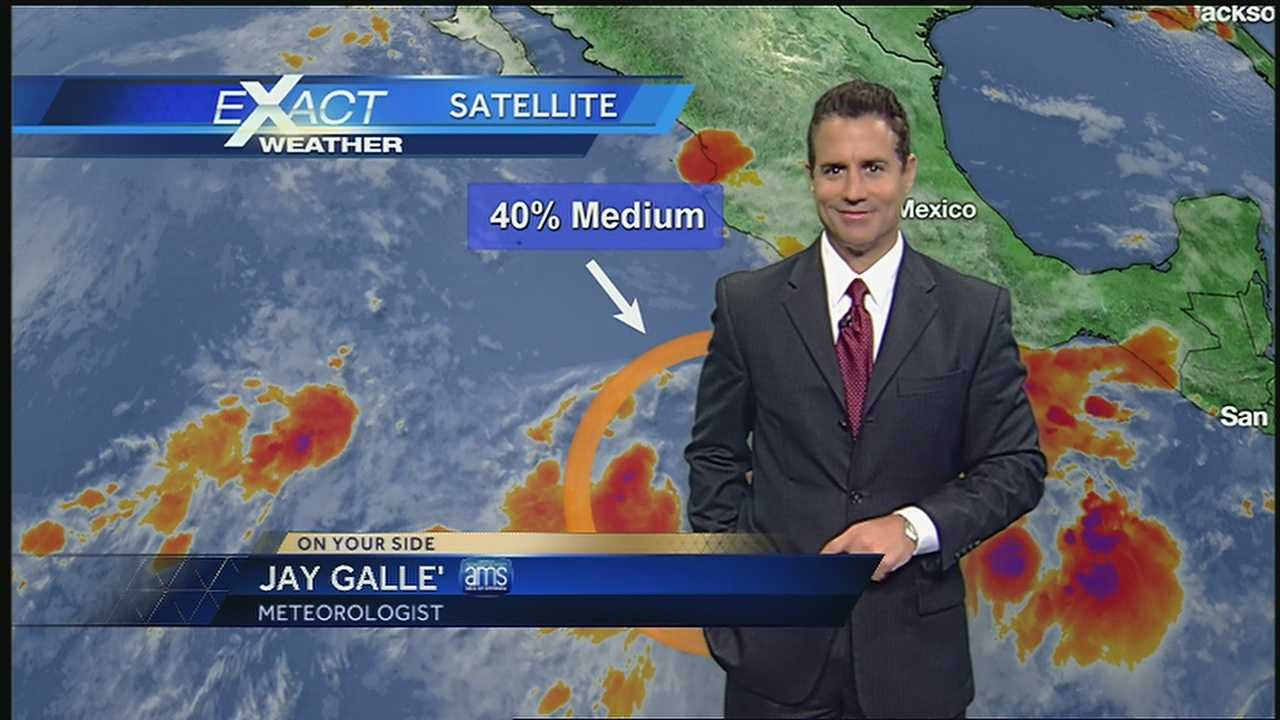 WDSU Exact Weather meteorologist Jay Galle has the latest on the developments in the tropics.