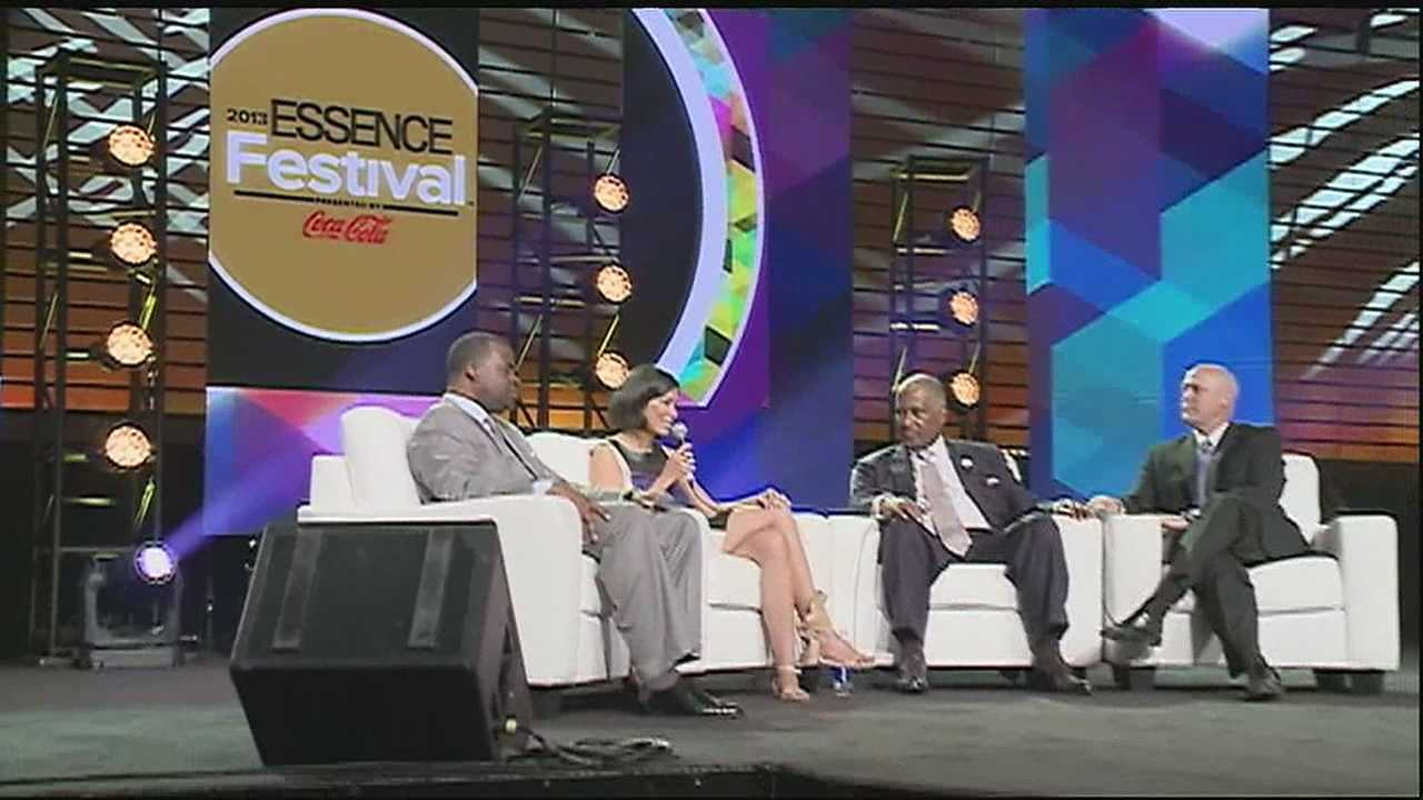Anti-crime summit took place at the Morial Convention Center Saturday during Essence Fest.