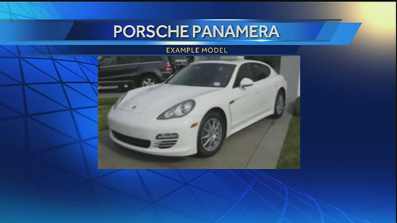 Police say a 2011 or 2012 white Porsche Panamera hit NOPD Officer Rodney Thomas Sunday at about 1 a.m.