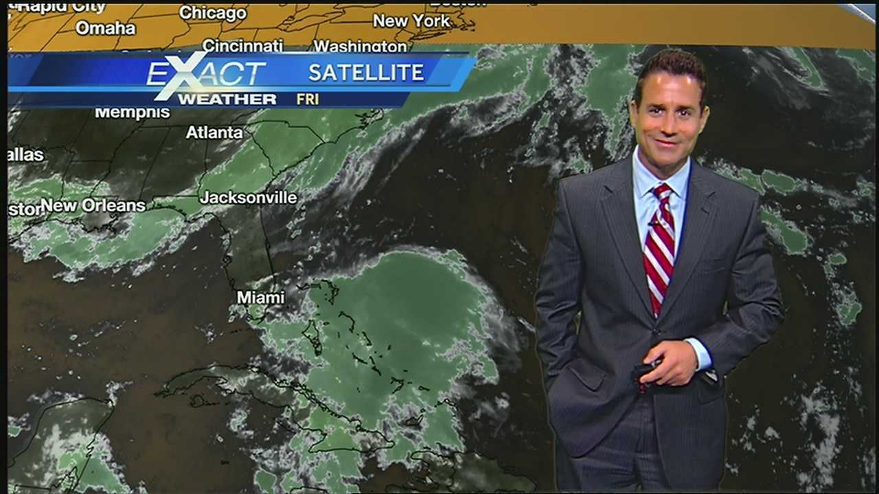 Get the latest developments on the tropics from WDSU Exact Weather Meteorologist Jay Galle.