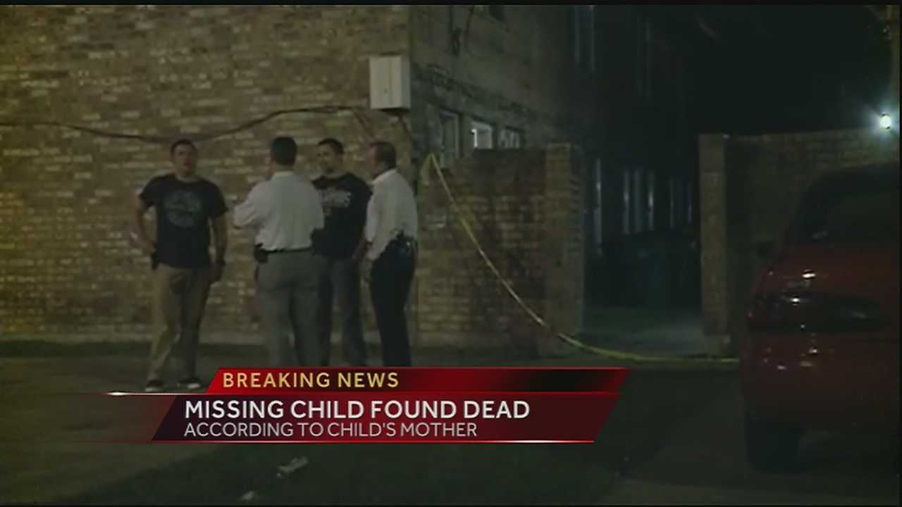 The body of a missing 6-year-old girl from Harvey was found, her mother told WDSU.