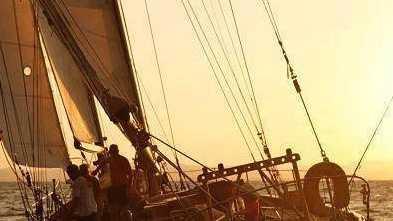 """The schooner """"Nina"""""""