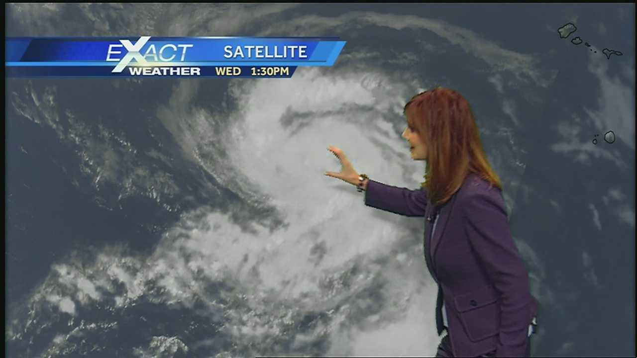 Here's the latest on Tropical Storm Dorian from WDSU Exact Weather Meteorologist Margaret Orr.