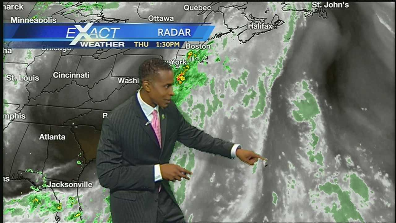 Here's the latest with Dorian and the rest of the tropics from WDSU Exact Weather Meteorologist Damon Singleton.