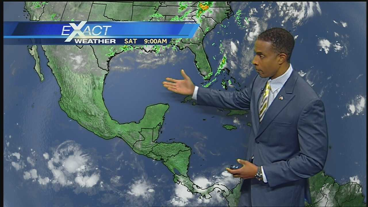Here's the latest on Dorian and the rest of the tropics from WDSU Exact Weather Meteorologist Damon Singleton.