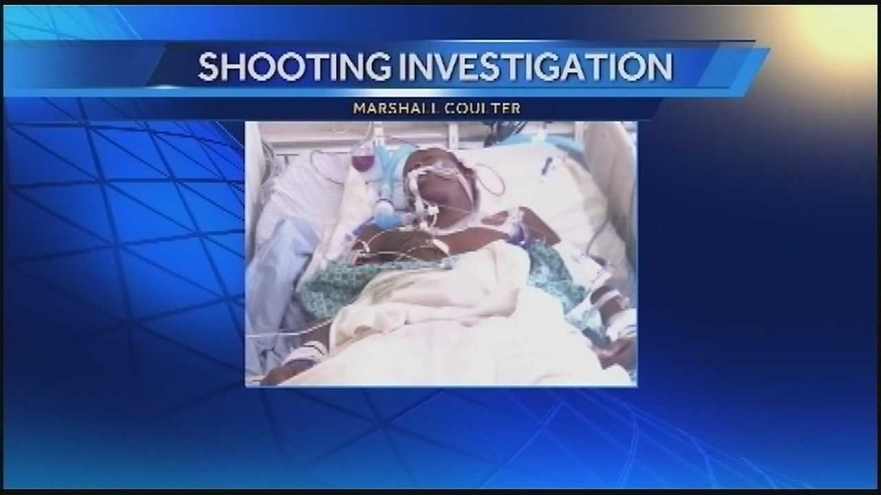 Shooting victim, 14, remains in ICU, shows small signs of improvement