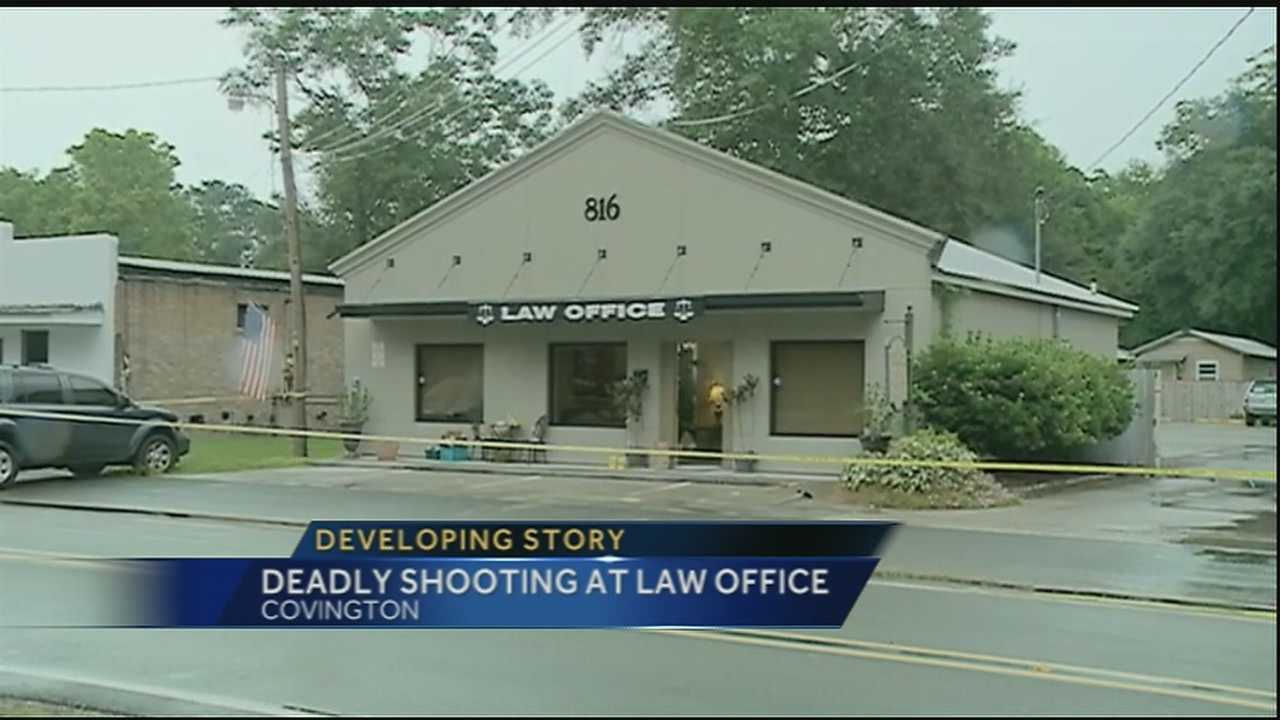 Police: Man opens fire in law office before turning gun on self