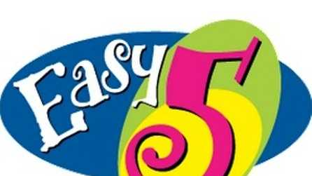 Easy 5 Lottery logo