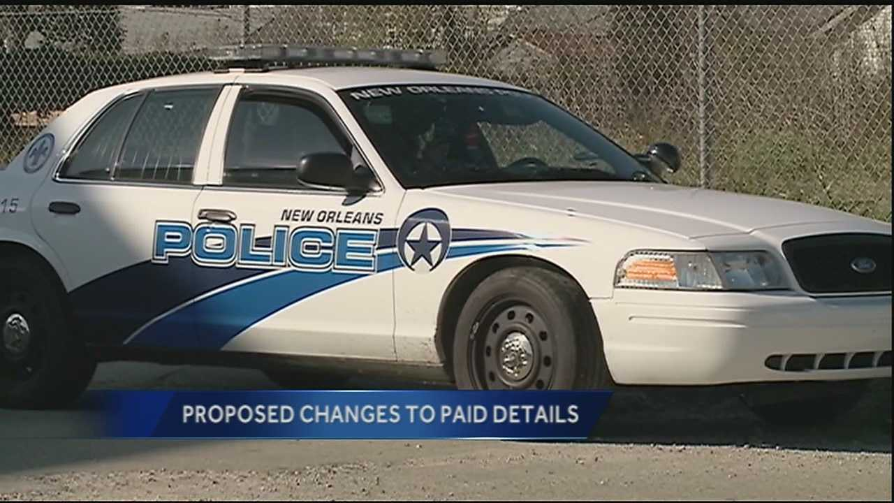 New Orleans' City Council has taken key steps to fully establish a new office that will oversee the off-duty security details that New Orleans police officers work to earn extra money.