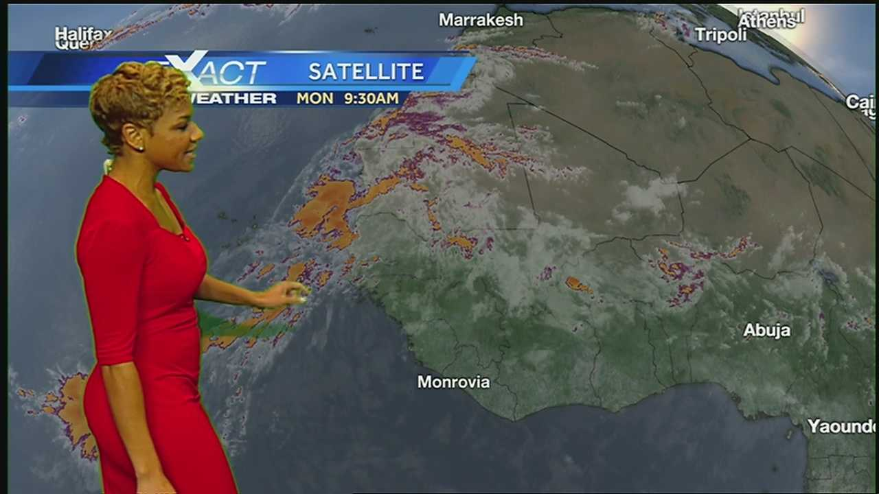 Here's the latest in the tropics from WDSU Exact Weather Meteorologist Kweilyn Murphy.
