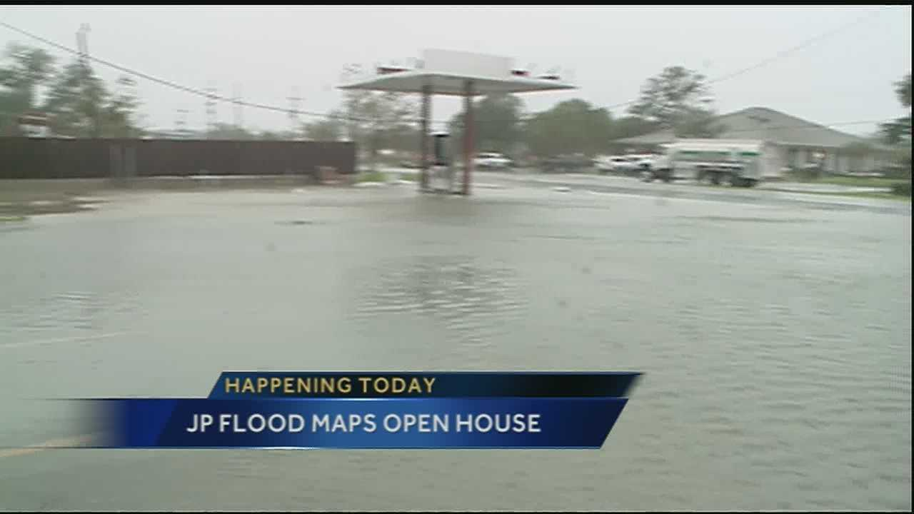 Jefferson Parish home and business owners will have the opportunity to look at the new FEMA flood maps