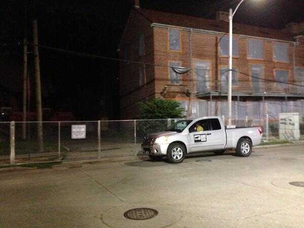 Construction workers began showing up at 5 a.m. Tuesday to begin the demolition process, and end an era at the Iberville Housing Development.