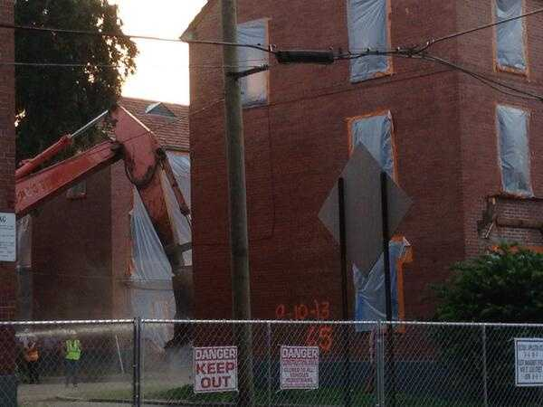 Fifty-nine of the buildings at the Iberville are set for demolition. The other 16 will be preserved and renovated. It's the last of the traditional housing developments to be torn down.