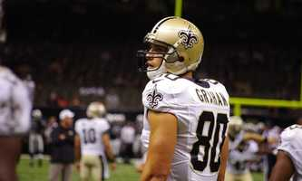 TE Jimmy GrahamThe tight end overcame one of the hardest shots to the head you'll ever see to catch a ball that set up New Orleans at the one on the very next play (I won't get into what happened from there). Graham accumulated a team record 179 yards on 10 catches. He also scored the Saints' only TD of the contest. He's the no brainier player of the game.