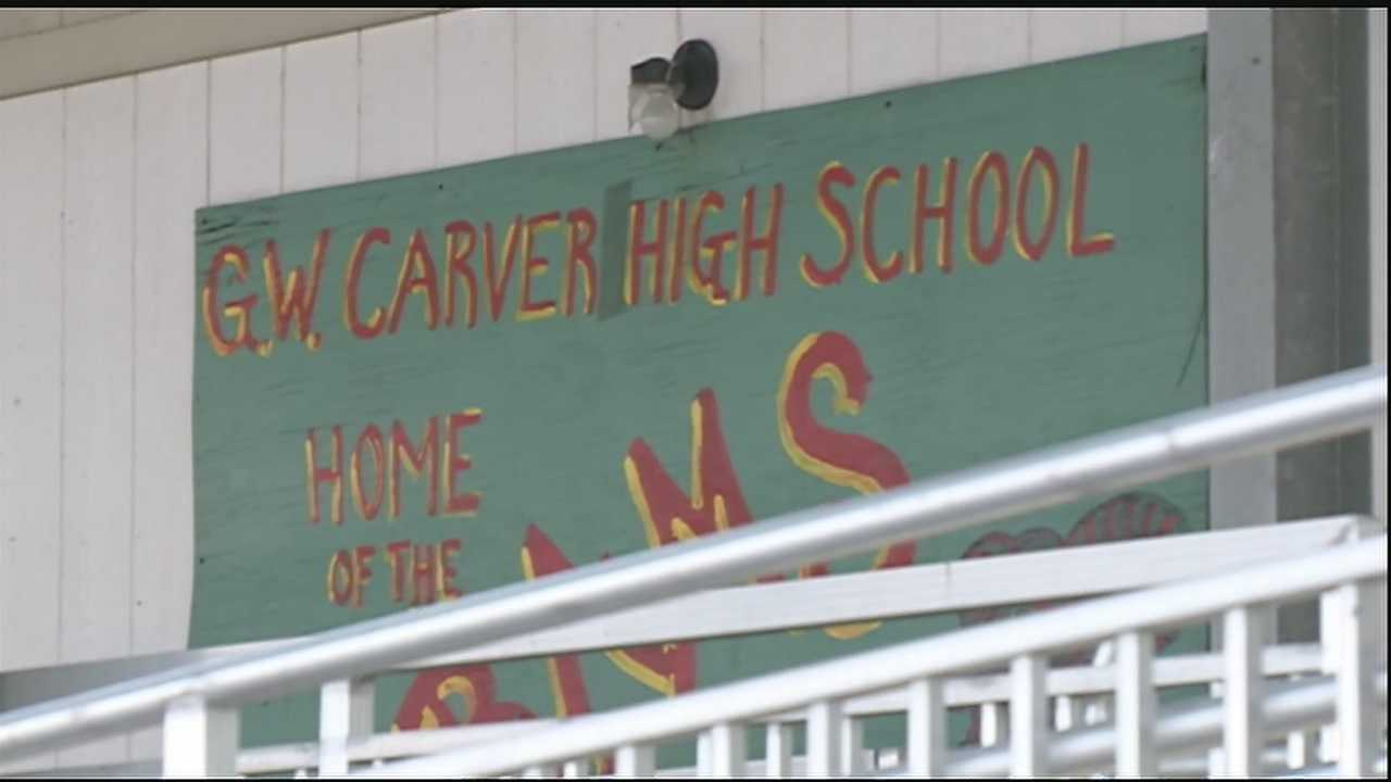 Some parents say the strict rules at George Washington Carver High School in New Orleans are preparing students for prison.