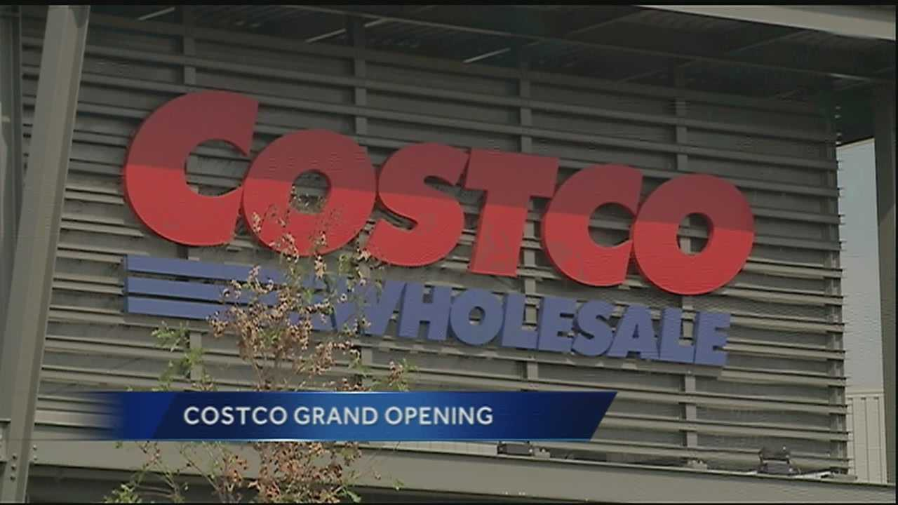 The new Costco store is set open Saturday