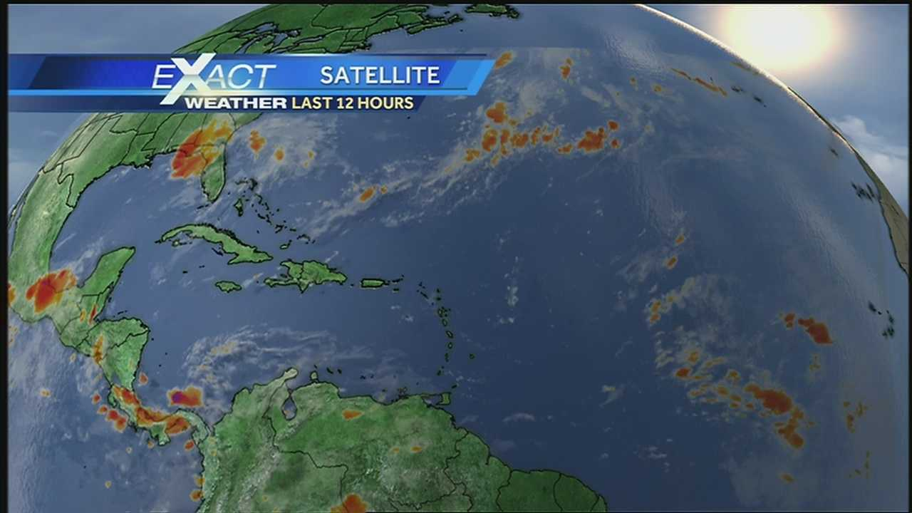 Here's the latest in the tropics from WDSU Exact Weather Meteorologist Jay Gallé.