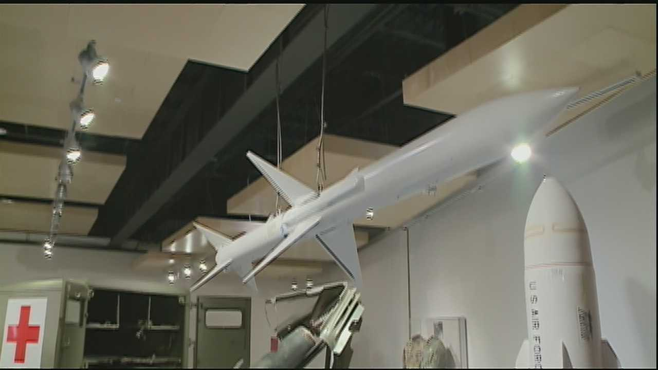 The Jackson Barracks Museum reopened Wednesday after being wiped out by Hurricane Katrina.