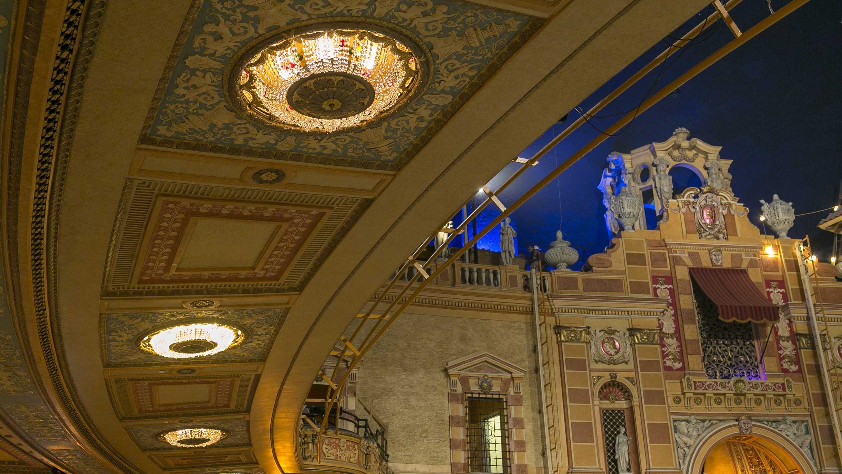 The Saenger Theatre will open its doors for the first time since Hurricane Katrina devastated the playhouse. On its opening night, superstar comedian Jerry Seinfeld will perform at 7 p.m.