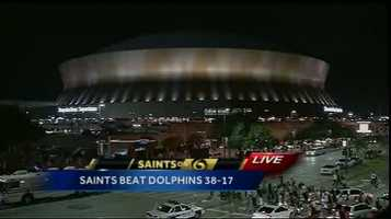 Here are WDSU's Players of the Game from the Saints' blowout win over the Dolphins.