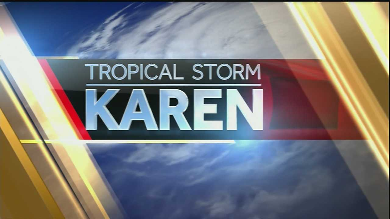 Get the latest on Tropical Storm Karen from the WDSU Exact Weather team.