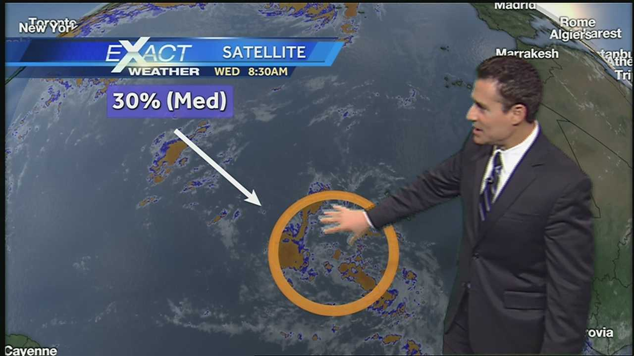 Get the latest on the tropics from the WDSU Exact Weather team.