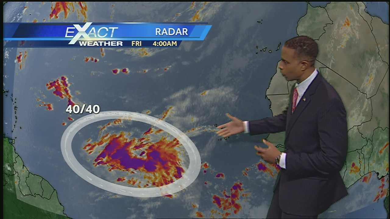 Get the latest on the tropics from WDSU Exact Weather meteorologist Damon Singleton.