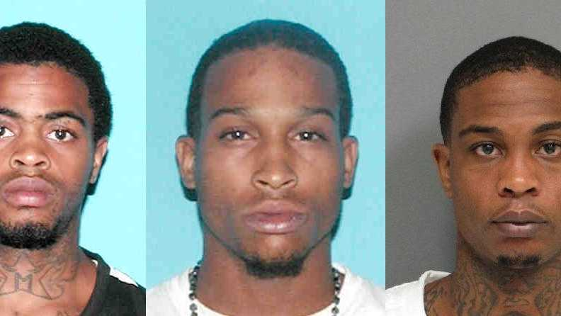 Kevias Hicks (Wanted), Tommie Molette (Arrested), Kevin Hicks (Arrested)