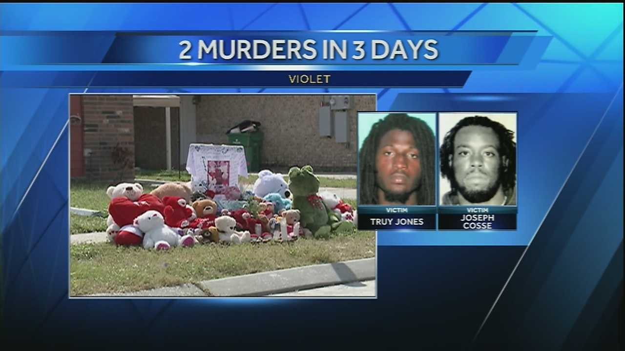 Slayings happened Tuesday and Friday, according to the St. Bernard Parish Sheriff's Office.