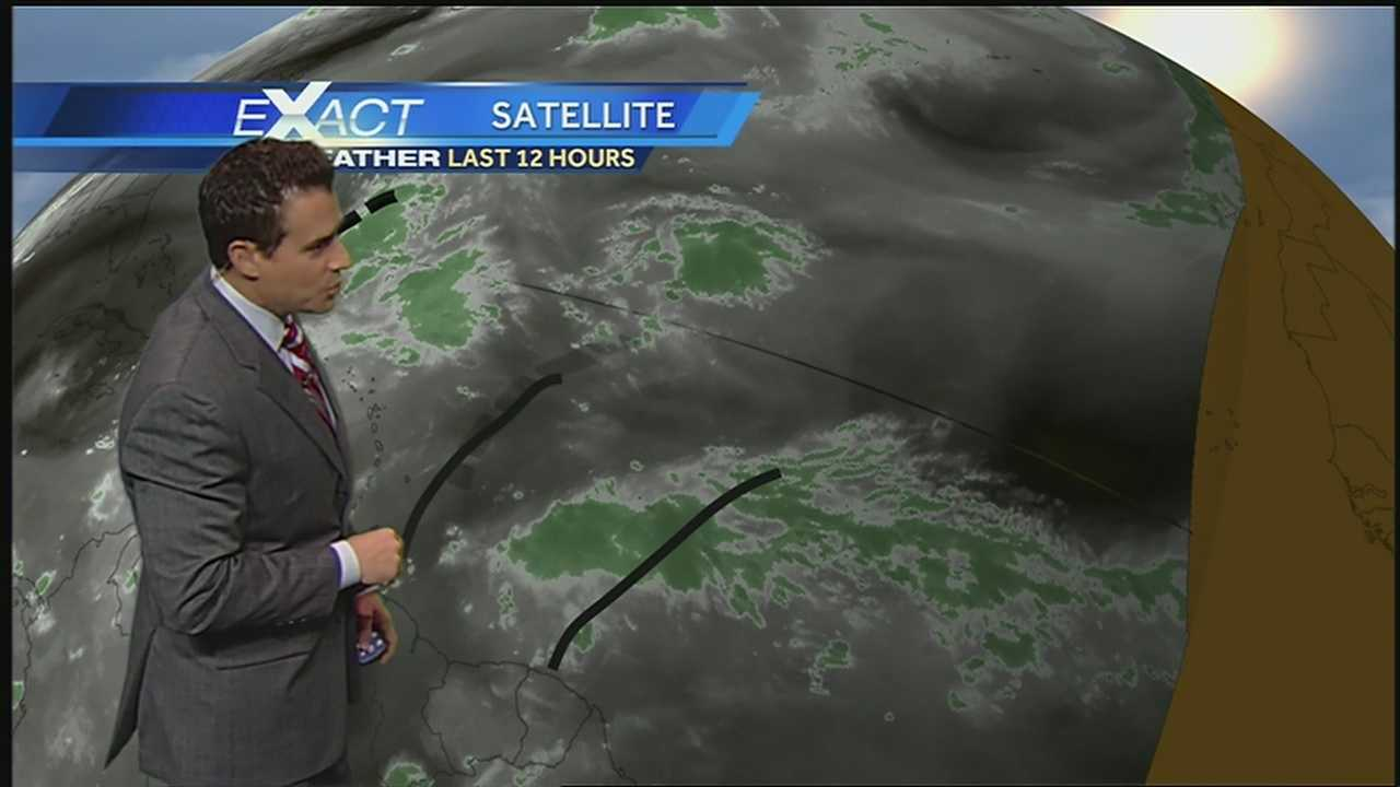Get the latest on the tropics from WDSU Exact Weather meteorologist Jay Gallé.